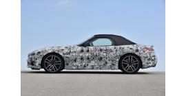 La BMW Z4 dans sa dernière phase de tests