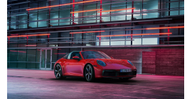 Nouvelle 911 Targa : la 992 avec arceau