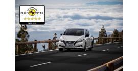 5 étoiles au crash test Euro-NCAP pour la nouvelle LEAF