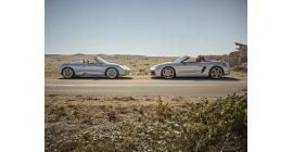 Porsche Boxster Edition 25 ans : une série limitée pour l'anniversaire du Roadster
