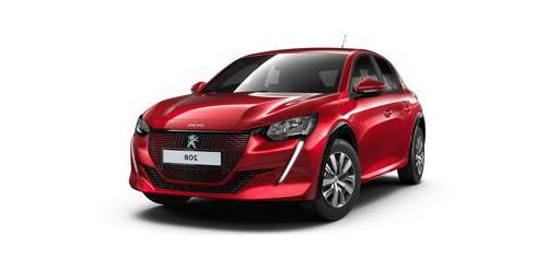 Peugeot e-208 en leasing