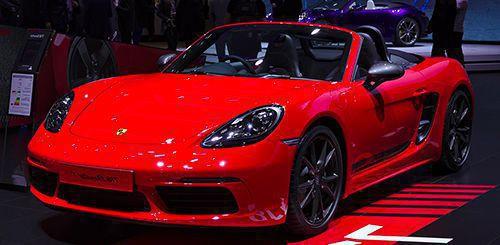 Porsche Boxster T occasion